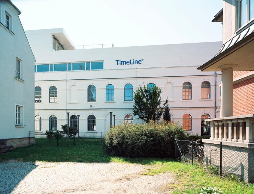 TimeLine Financials Gebäude Seitenansicht