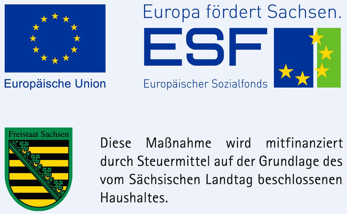 ESF-Europa fördert Sachsen